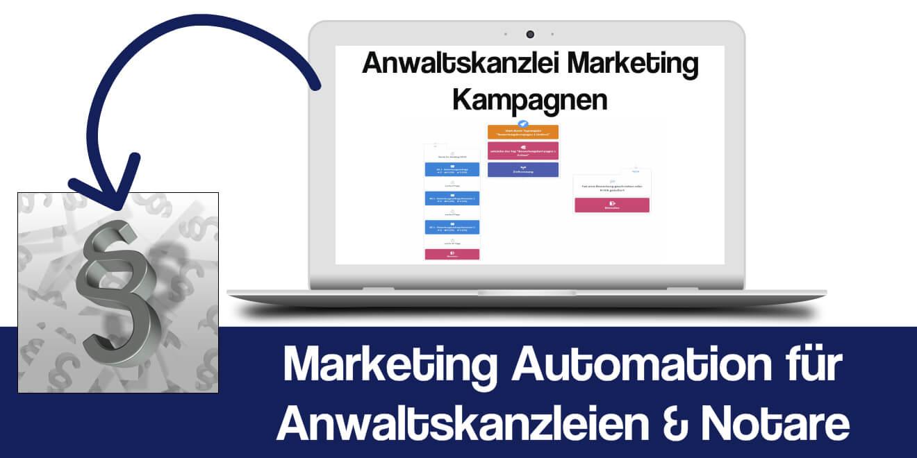 Marketing Automation Anwaltskanzlei